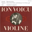 Violin Concerto, 1, : Voicu(Vn)Bongartz / Dresden Po +sarasate, Lalo: Symphonie Espagnole