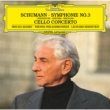 交響曲第3番「ライン」、チェロ協奏曲:ミッシャ・マイスキー(チェロ)、バーンスタイン指揮&ウィーン・フィルハーモニー管弦楽団 (アナログレコード)