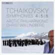 交響曲第6番『悲愴』、第5番、第4番 クリスティアン・リンドベルイ&アークティック・フィル(2SACD)(日本語解説付)