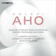 ソプラノ・サックス協奏曲、ピアノと木管のための五重奏曲、ソロ I アンデシュ・パウルソン、ヴァイノ・ヤルカネン、ヤーッコ・クーシスト、他