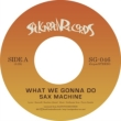 What We Gonna Do / Starred Not Shaking (7インチアナログレコード)