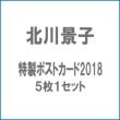 北川景子 特製ポストカード2018