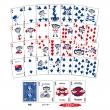 ドアラ バイスクル プレイングカード (トランプ)