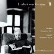 ブラームス:交響曲第1番、モーツァルト:交響曲第40番 カラヤン&ウィーン・フィルハーモニー管弦楽団 (2枚組アナログレコード)