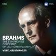 Complete Symphonies, Ein Deutsches Requiem, Concertos : Wilhelm Furtwangler / Vienna Philharmonic, Berlin Philharmonic, Stockholm Philharmonic, etc (6CD)