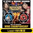 AJ STYLES vs NAKAMURA Photo Ver.WRESTLEMANIA34 COIN COLLECTION【Loppi・HMV限定】