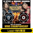 AJ STYLES vs NAKAMURA Logo Ver.WRESTLEMANIA34 COIN COLLECTION【Loppi・HMV限定】