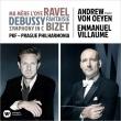 ビゼー:交響曲、ラヴェル:組曲『マ・メール・ロワ』、ドビュッシー:幻想曲 エマニュエル・ヴィヨーム&プラハ・フィルハーモニア、アンドリュー・フォン・オーエン