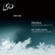 交響曲第1番、第2番、第3番、第4番 コリン・デイヴィス&ロンドン交響楽団(2003-2008)(2CD)