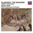 グラズノフ:四季、オーベール:序曲集 アルベール・ヴォルフ&パリ音楽院管弦楽団