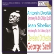ドヴォルザーク:交響曲第8番、シベリウス:交響曲第4番 ジョージ・セル&クリーヴランド管弦楽団(1966年ステレオ)
