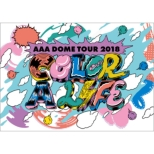 AAA DOME TOUR 2018 COLOR A LIFE (Blu-ray)
