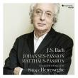 マタイ受難曲、ヨハネ受難曲 フィリップ・ヘレヴェッヘ&コレギウム・ヴォカーレ(1998、2001)(5CD)