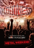 LOUDNESS World Tour 2018 RISE TO GLORY METAL WEEKEND 【DVD+2CD/日本語解説書封入】