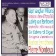 エルガー:エニグマ変奏曲、ベートーヴェン:交響曲第4番、ヴォーン・ウィリアムズ:タリスの主題による幻想曲 ピエール・モントゥー&ボストン交響楽団(1963ステレオ)
