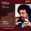 マーラー:交響曲第9番、シノーポリ:『コスタンツォ・ポルタ賛歌』より、他 ジュゼッペ・シノーポリ&シュターツカペレ・ドレスデン(2CD)