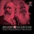 Brahms Symphony No.4, Segerstam Symphony No.295 : Leif Segerstam / Turku Philharmonic (Hybrid)