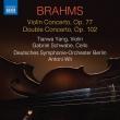 Violin Concerto, Double Concerto : Tianwa Yang(Vn)Schwabe(Vc)Antoni Wit / Berlin Deutsches Symphony Orchestra