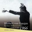 Brahms Symphony No.2, Schubert Symphony No.8 : Herbert von Karajan / Berlin Philharmonic (1966 Sapporo Stereo Live)