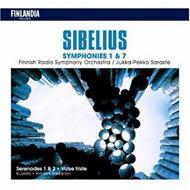 Sym.1, 7, Orch.works: Saraste, Almila, Rasilainen / Finnish.rso, Kuopio.so, Nor