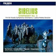 Sym.3, Karelia Suite, Etc: Saraste, Berglund / Finnish.rso, Etc