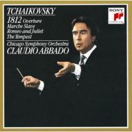 1812, Marche Salve, Romeo & Juliet, Tempest: Abbado / Cso