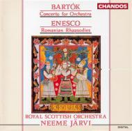 バルトーク:オーケストラのための協奏曲 他 N・ヤルヴィ/ロイヤル・スコテイッシュ