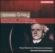 グリーグ:交響的舞曲 他 G・ロジェストヴェンスキー/ロイヤル・ストックホルムPO