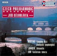 マルティヌー:交響曲第6番 他 J・ビェロフラーヴェク/チェコ・フィル