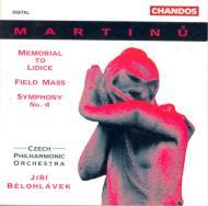 マルティヌー:交響曲第4番 他 J・ビエロフラーヴェク/チェコ・フィルハーモニック