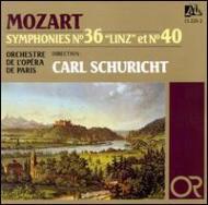 Sym.36, 40: Schuricht / Paris Opera.o