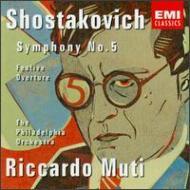 Sym, 5, : Muti / Philadelphia O +festive Overture