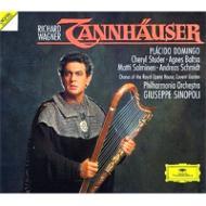 『タンホイザー』全曲 シノーポリ&フィルハーモニア管、ドミンゴ、ステューダー、バルツァ、他(1988 ステレオ)(3CD)