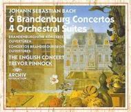 ブランデンブルク協奏曲全曲、管弦楽組曲全曲 トレヴァー・ピノック&イングリッシュ・コンサート(3CD)