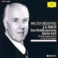 well-tempered Clavier: Gieseking(P)