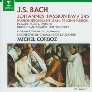 Johannes-passion: Corboz / Lausanne Co Palmer Finnila Equiluz