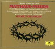 マタイ受難曲 カラヤン&ベルリン・フィル、シュライアー、F.=ディースカウ(3CD)