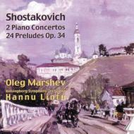 Piano Concertos.1, 2, 24 Preludes: Marshev(P)lintu / Helsingborg.so