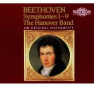 交響曲全集 ハノーヴァー・バンド、グッドマン(3,4,6,7,8,9)、ハジェット(1,2,5)(5CD)