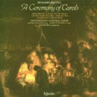 ブリテン:キャロルの祭典 D・ヒル/ウェストミンスター大聖堂合唱団