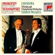 Sinfonia Concertante: Yo-yo Ma(Vc)Maazel / Pittsburgh So +tchaiko