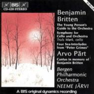 Young Persons, Etc / Cantus In Memory Britten: Jarvi /