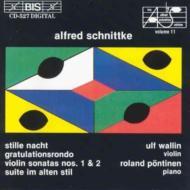 Violin Sonata.1, 2, Etc: Wallin(Vn)Pontinen(P)