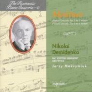 (ロマンティック・ピアノ協奏曲集 第2巻)メットネル:ピアノ協奏曲第2番、第3番 N・デミジェンコ(p)/J・マクシュミク