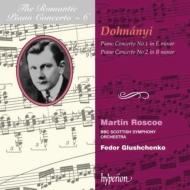 (ロマンティック・ピアノ協奏曲集 第6巻)ドホナーニ:ピアノ協奏曲第1・2番 ロスコー(p)/グルシュチェンコ