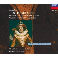 歌劇『ユグノー教徒』全曲 ボニング&ニュー・フィルハーモニア管、サザーランド(4CD)