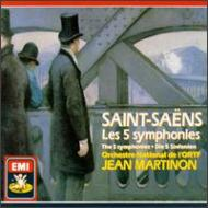 Comp.symphonies: Martinon / French National Radio O