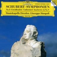 交響曲第8、9番 シノーポリ&シュターツカペレ・ドレスデン