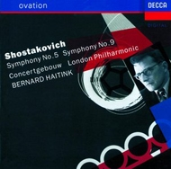 交響曲第5番『革命』、第9番 ハイティンク&コンセルトヘボウ管弦楽団、ロンドン・フィル