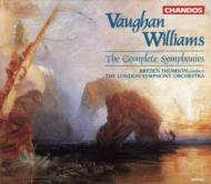 V・ウィリアムズ:交響曲全集/B・トムソン、ロンドンSO
